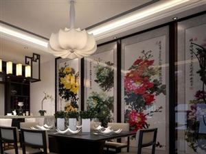 古典韵味十足 10款中式风餐厅背景墙