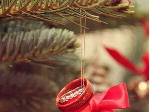 红色圣诞主题婚礼推荐 手把手教你打造爱的盛宴