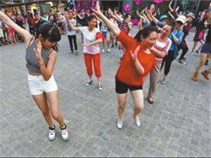 澳门威尼斯人游戏注册县王岗镇广场舞带动社区文化建设