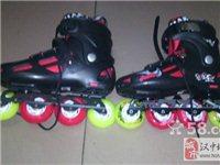 全新的41平花溜冰鞋 水果轮 蜘蛛扣