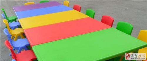 幼儿园桌椅/塑料桌椅/儿童桌子