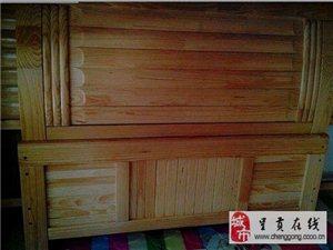 厂家直销松木床 松木衣柜 松木高低床