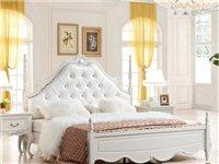 出售实木欧式床两张(打包出售)