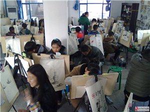 汉中晶园艺校美术培训长年招收中小学及高中艺考类学生