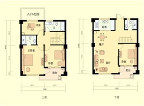 4室2厅3卫 面积:147平方米