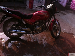 出售钱江个人摩托车一辆