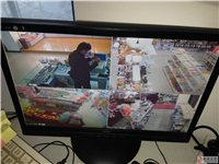 转让小超市便利店收银机,条码机,硬盘录像机(4个摄