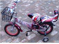 转让9.9成新儿童自行车一辆