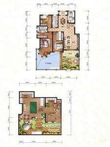 绿地·剑桥A1-一层边户3室2厅2卫1厨-166.76㎡