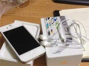 低价转让苹果4S白色国行正品