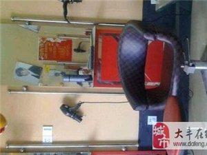理发店用镜子和椅子