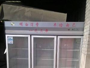 9.8成新点菜柜冷藏柜保鲜柜冰柜双压缩机
