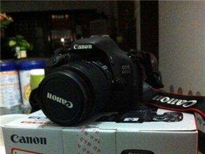 出售95成新佳能600D单反相机