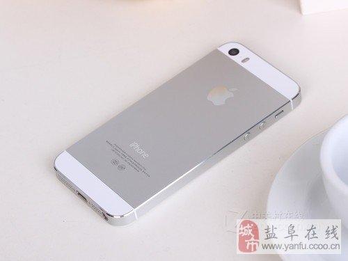 阜寧全新iphone5S轉讓,白色的