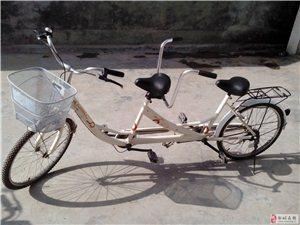 捷马双人自行车