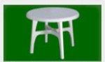 出售塑料圆桌靠椅