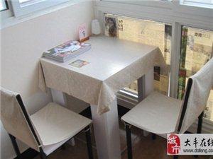 小板式餐桌2人座