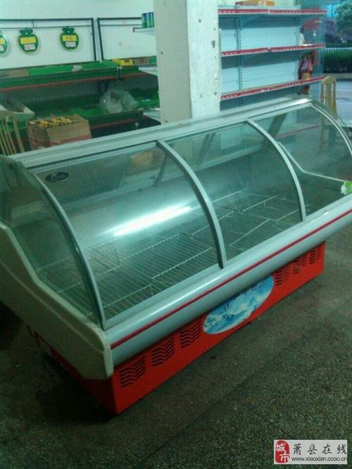 低價出售蔬果超市用的貨架、冰柜之類的