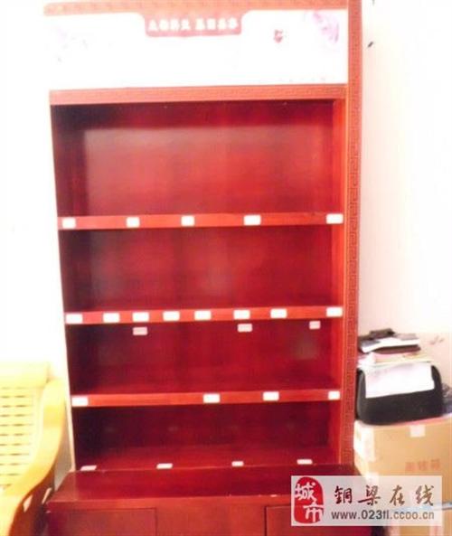 轉讓木料紫紅色展示柜 - 300元