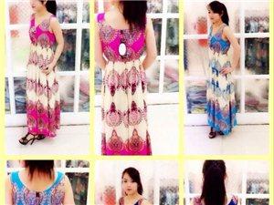 25-50歲女裝批發,外貿夏季連衣裙低價批發。