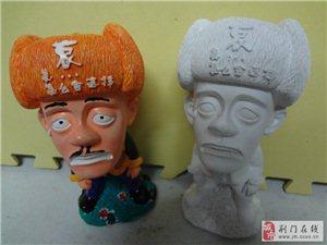 荆门石膏娃娃卡通DIY石膏像批发
