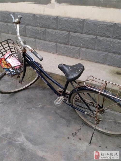 出售飞鸽旧自行车100元