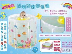 曼波魚屋嬰兒泳池,給寶寶清涼一夏!