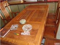 出售非洲花梨茶桌【办公桌】一张
