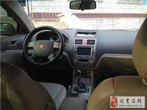 卖2011年帝豪C7180轿车,5万7