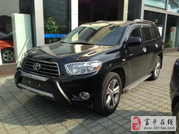 轉讓豐田漢蘭達2.7L豪華版售價3.5萬