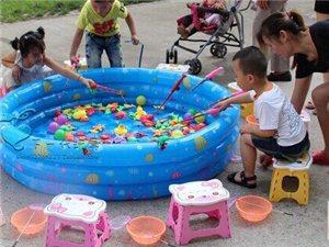 广场儿童生意钓鱼生意全套