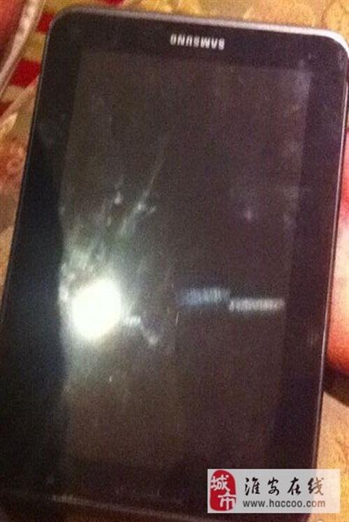 出售7寸大屏幕手機三星GTP3100