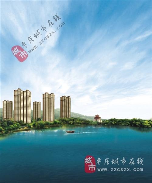 枣庄东湖经典鸟瞰图