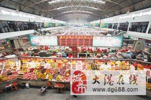 出售稀缺大港中塘示范镇正兴里菜市场中心门面,位置极