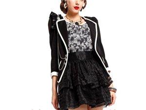 時尚主流品牌連衣裙折扣女裝長袖連衣裙大貨供應商