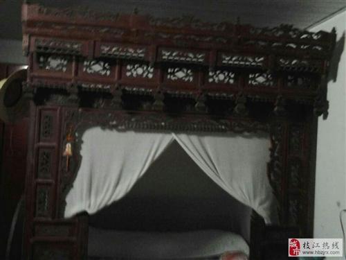 复古雕花床