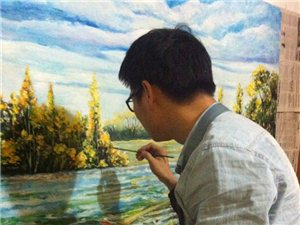 富陽貝爾畫室美術培訓班開課