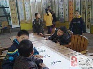 四川广安艺圃书法培训