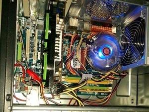 工作室不干几台刚组装的四核四线程电脑当二手卖了