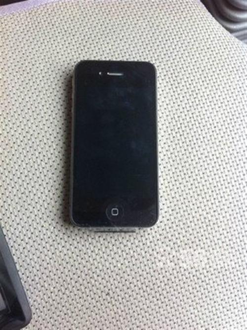 黑色苹果8GB国行iPhone4原装主配
