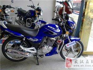 铃木钻豹HJ125K-3A摩托车