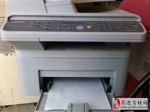 三星4521复印、打印、传真、扫描一体,9.5成新