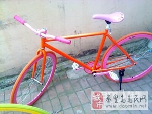 半价处理死飞自行车两辆