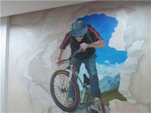 德州彩绘/德州墙绘公司/七彩虹墙体彩绘公司