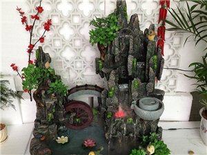 供应各种室内盆景加湿器摆件,流水工艺礼品