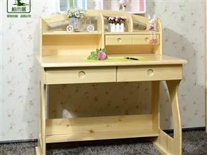 全新!全新!松木书桌+椅子忍痛出售