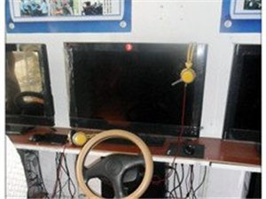 汽车驾驶智能训练机6台(转让)