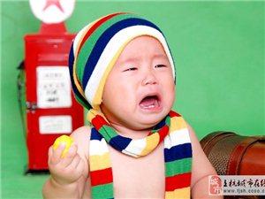 上杭金色童年兒童攝影 寶寶吃飯費勁 餓一餓真有效