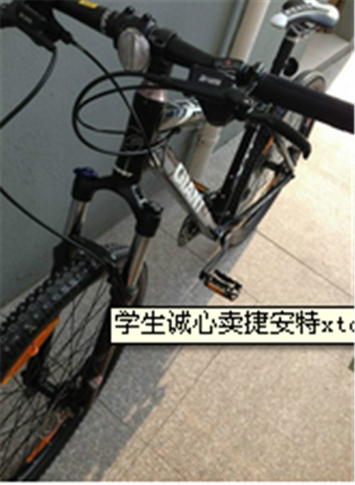 學生誠心賣捷安特xtc中高端車
