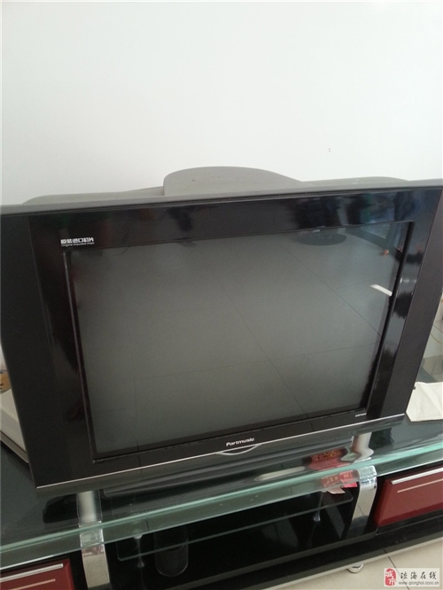 图像变色的松下29寸,大脑袋电视机200块出
